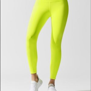 Alo yoga highlighter leggings small